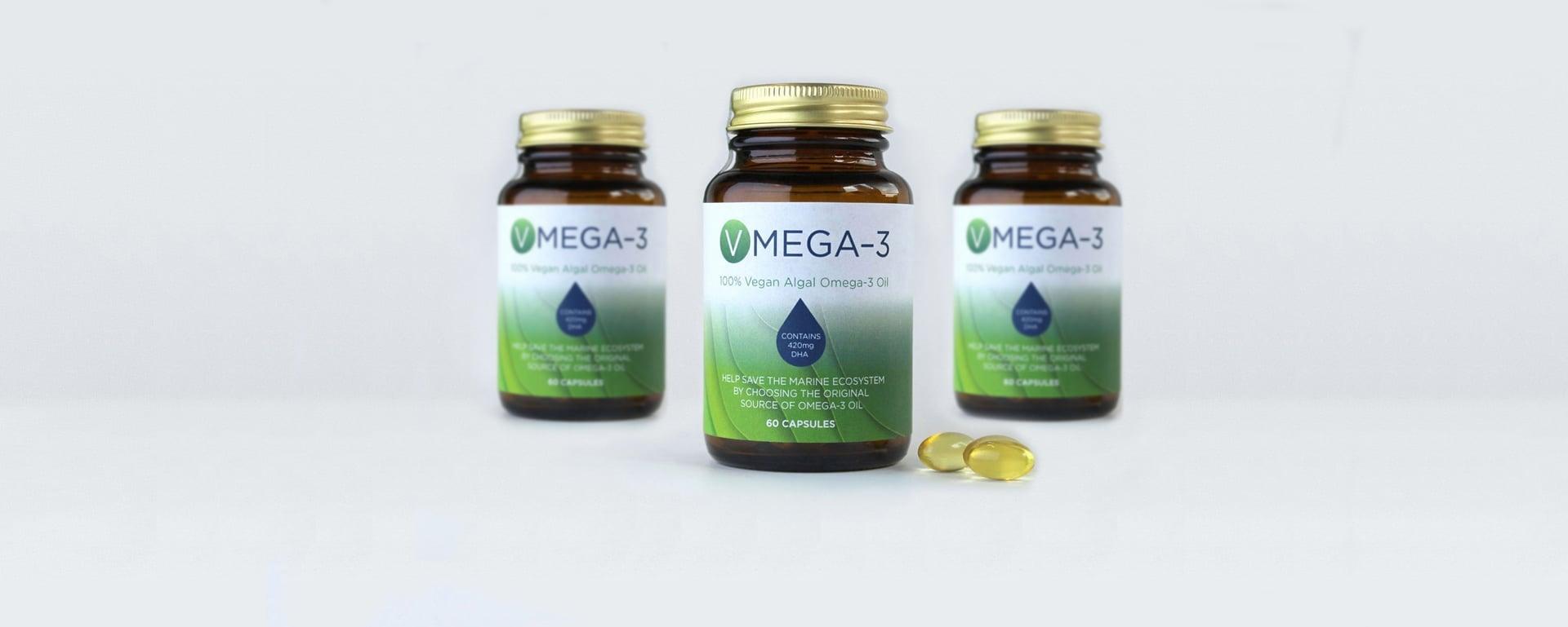 Vmega-3 Algal Oil The Purest Form Of Omega 3 Hero Shot