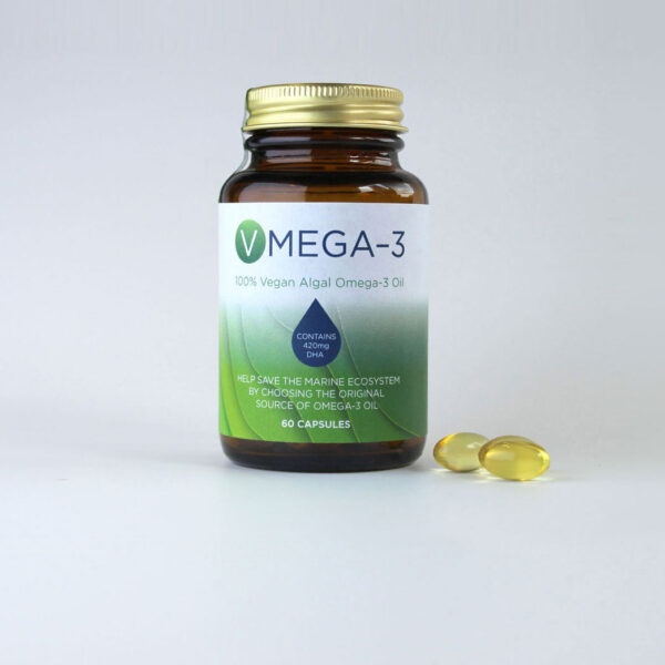 Vegan Omega 3 Algal Oil Capsules