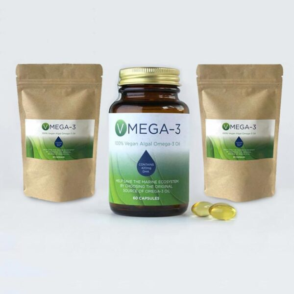 V-Omega3 Algal Oil (3 for 2 offer)